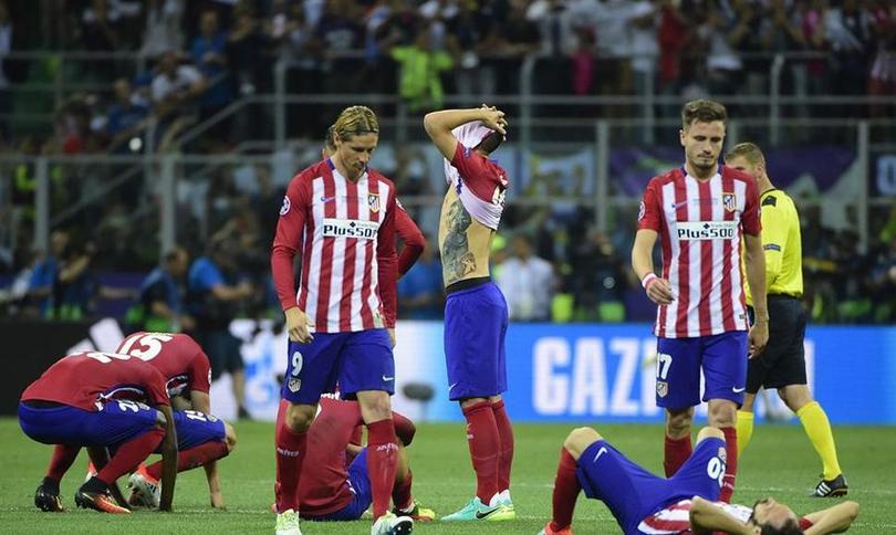Atlético de Madrid pierde la Champions