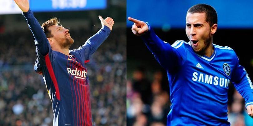 Messi VS Hazard