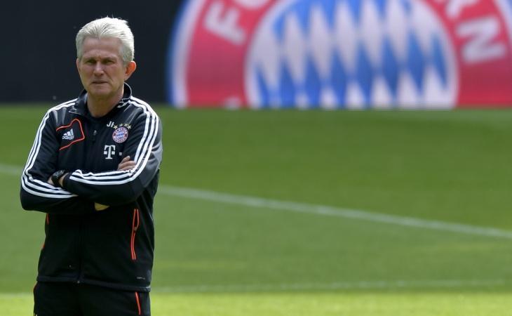 Jupp Heynckes, entrenador del Bayern