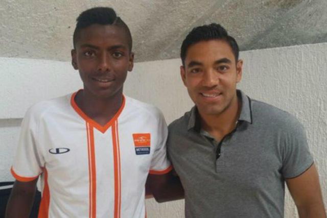Joao Maleck y Marco Fabian