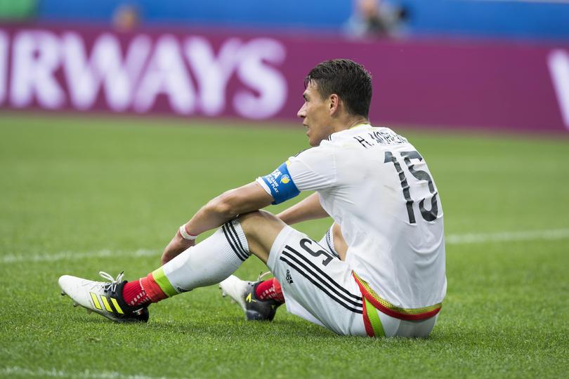 Héctor Moreno no dio el ancho en la Roma