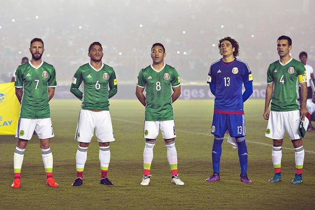 Jugadores de la selección