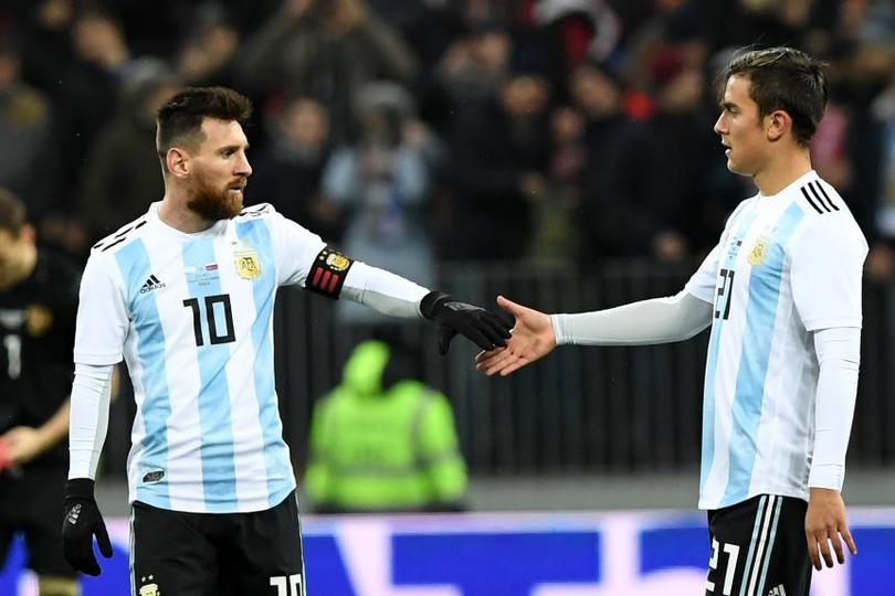 Messi Y Dybala