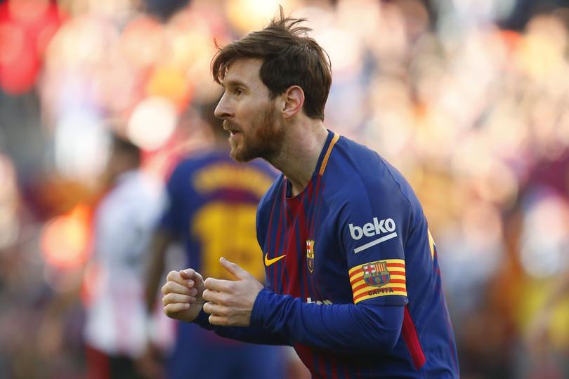 Baile de Messi