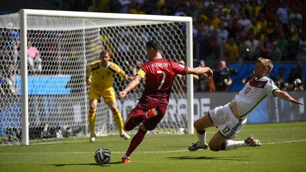 Cristiano Ronaldo contra Alemania Mundial 2014