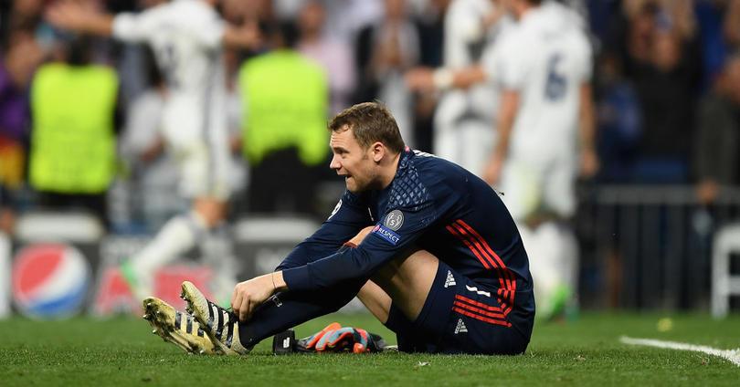 Manuel Neuer resentido de su lesión