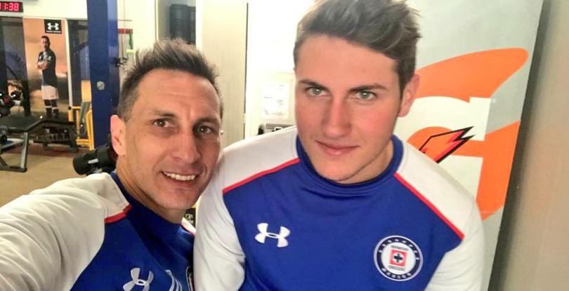 Cristian y Santiago Gímenez