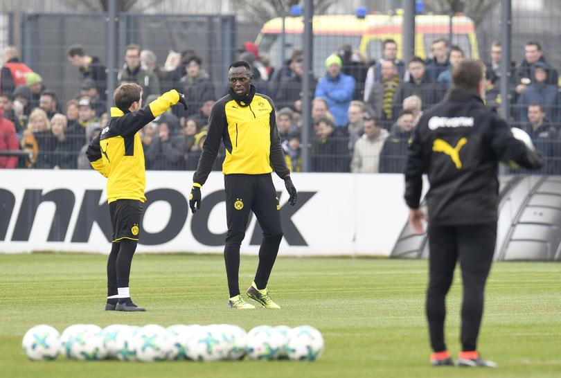 Usain Bolt en Dortmund