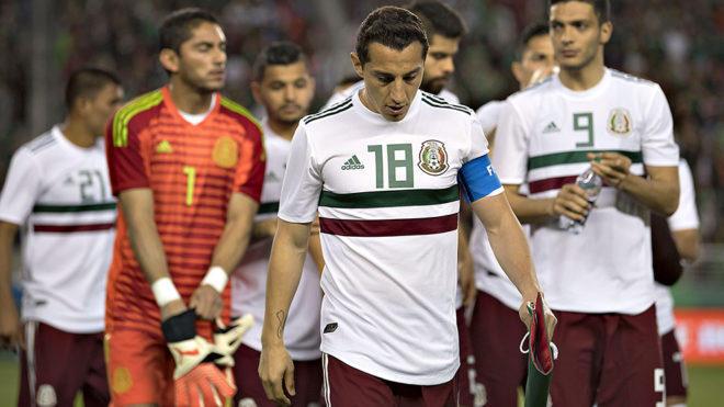 Mexico despues del uego contra Islandia