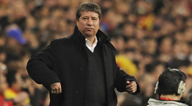 """Hernán """"Bolillo"""" Gómez, entrenador de Panamá"""