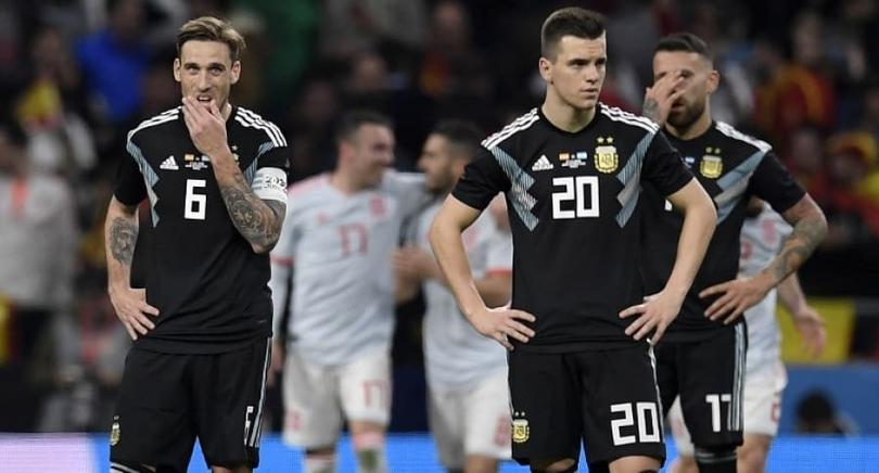 España 6-1 Argentina