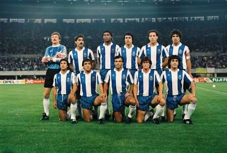 Porto campeón de Europa 1987