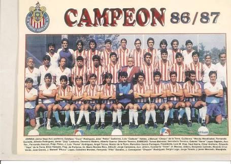 Chivas campeón 1986/1987