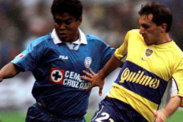 Chaco Giménez con Boca Juniors