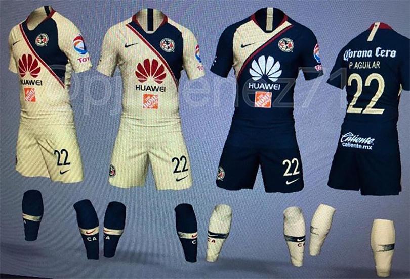 Se filtra el posible nuevo uniforme del América 809f9558a23b3