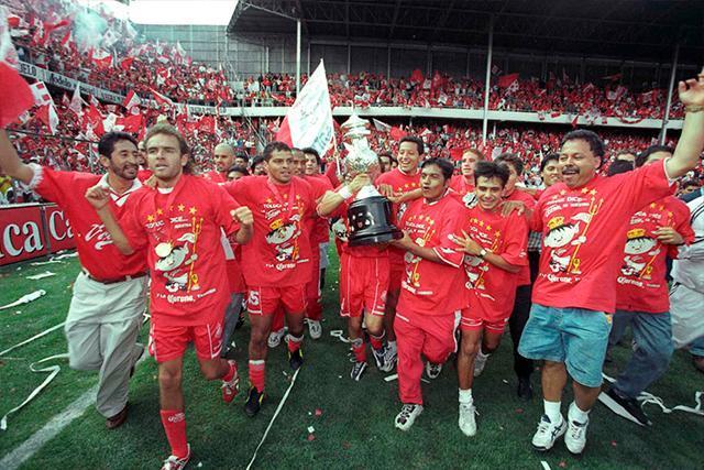 Toluca Campeón Verano 98