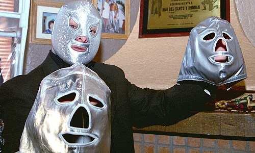 El Santo y sus mascaras