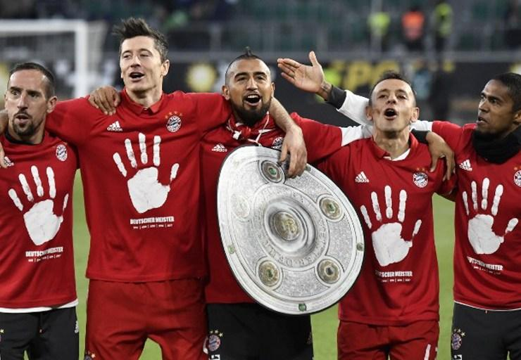 Campeón Bayern Munich por sexta vez consecutiva