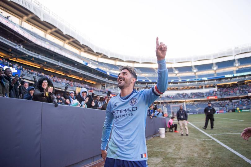 David Villa es el referente del New York City FC.