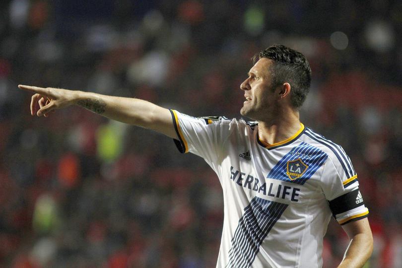 Robbie Keane fue campeón en tres ocasiones de la MLS con el Galaxy (2011,2012 y 2014).