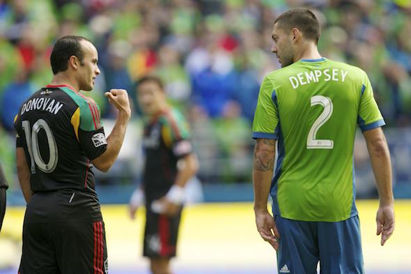 Donovan y Dempsey están empatados con más goles en la Selección de Estados Unidos.