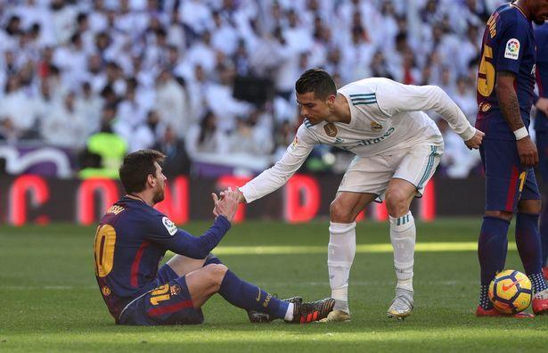 Messi y CR7