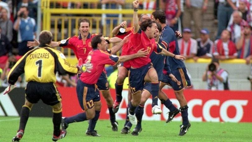 El gol de Alfonso en la Euro en el 2000