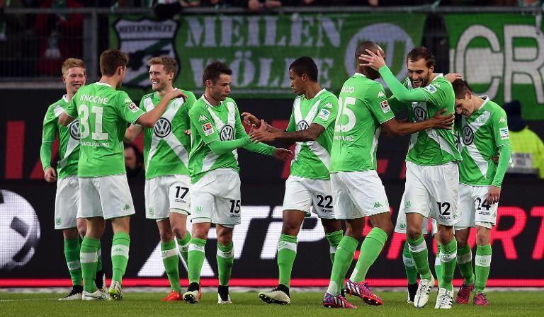 Wolfsburgo está en la tablita de la Bundesliga
