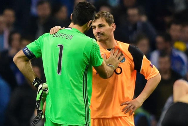 Buffon y Casillas