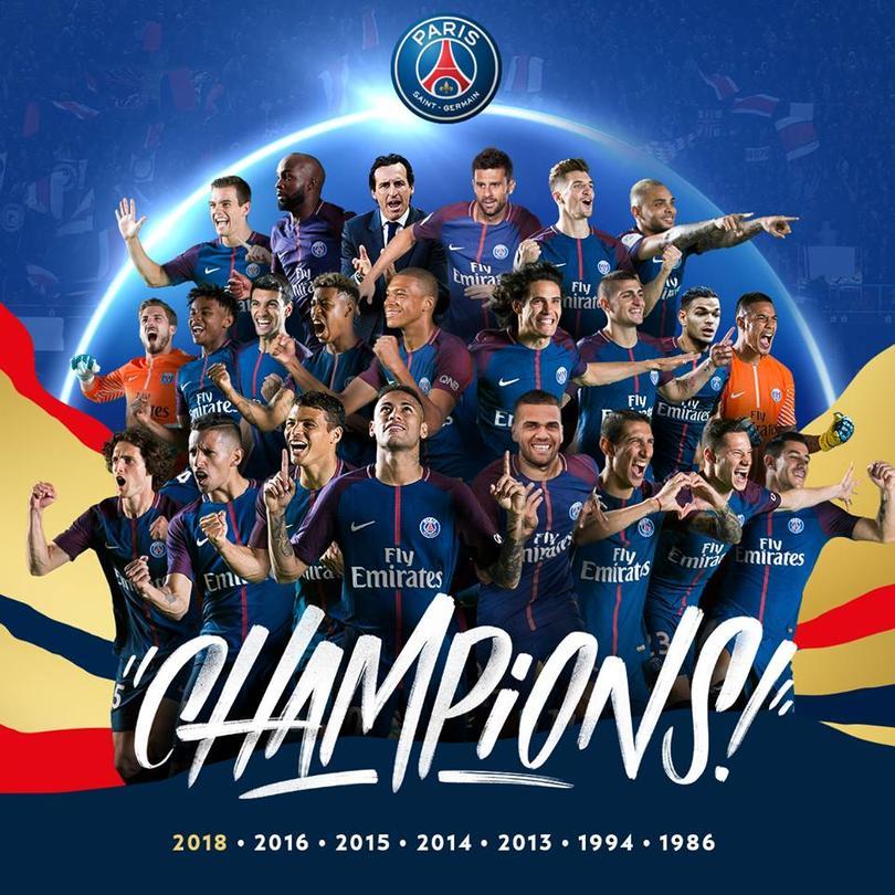 Este es el quinto título en esta década para el equipo parisino.
