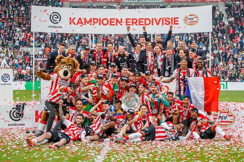 Es la tercera Eredivisie que gana Phillip Cocu como técnico del PSV.