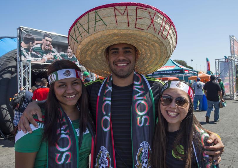 Ve con la afición mexicana a Rusia