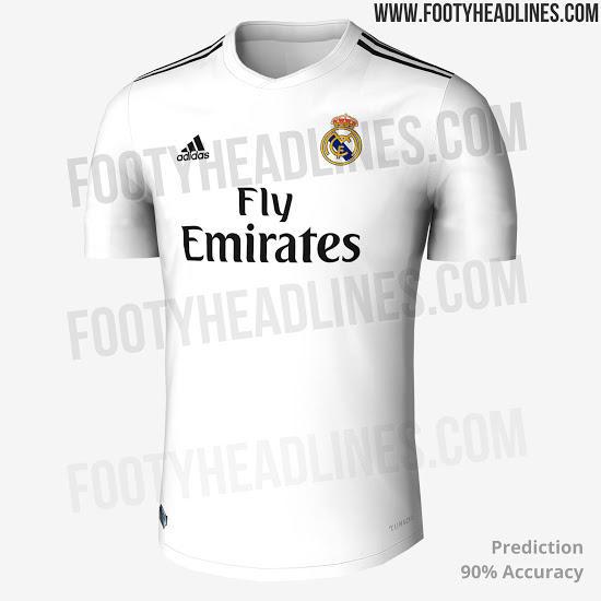 6e2b100baf0e5 Así será la nueva playera del Real Madrid para la próxima temporada!