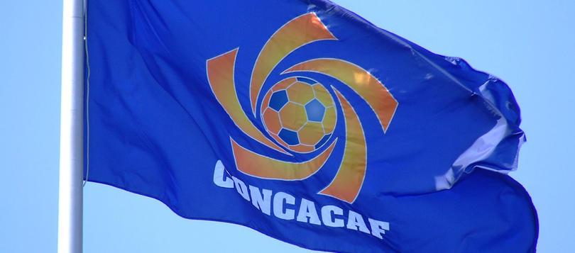La bandera de Concacaf