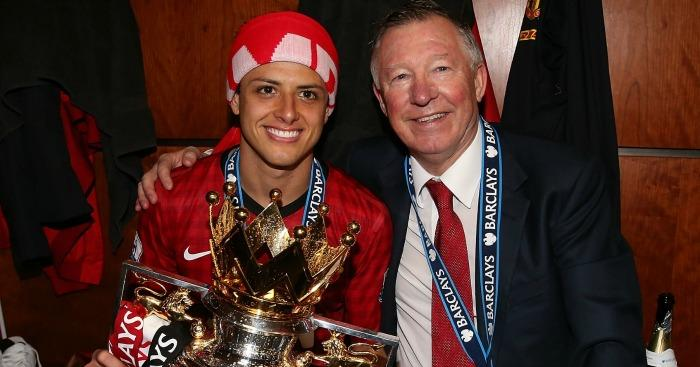 Sir Alex Fergurson y Chicharito