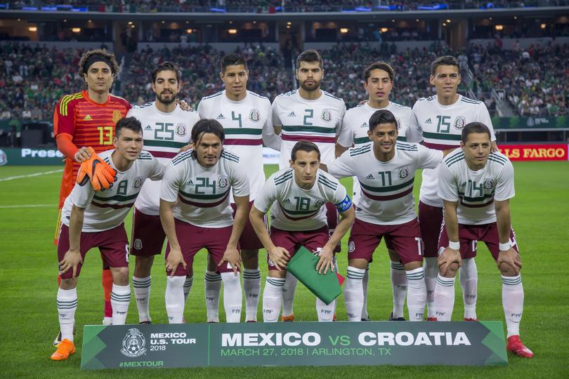 Mexico contra Croacia