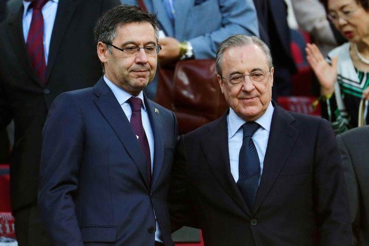 Josep Maria Bartomeu y Florentino Pérez