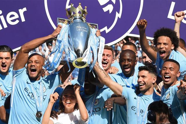 Manchester City campeón 2018