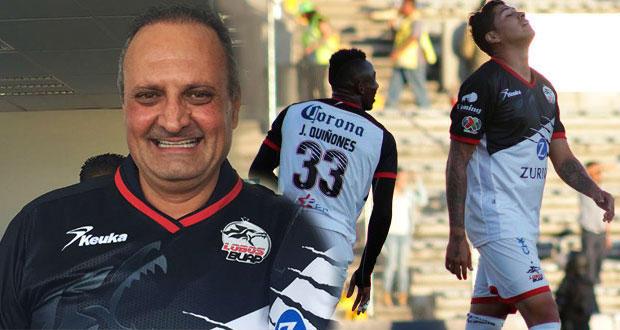 José Hanan Budib deja su cargo como miembro del Patronato del Club Lobos BUAP.