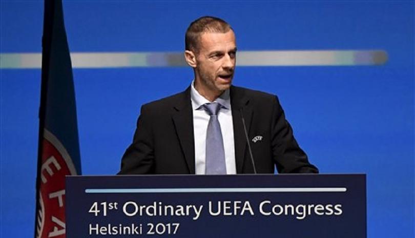 El presidente de la UEFA