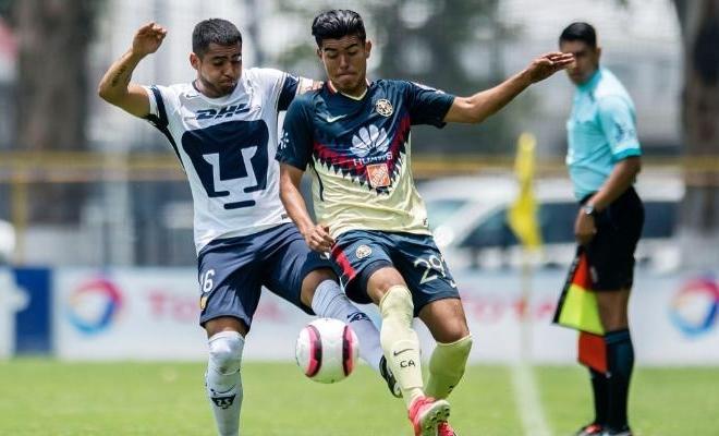 América contra Pumas Sub 20