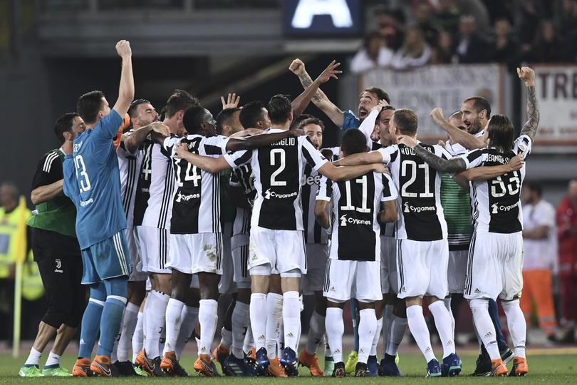 Juventus campeón de Serie A
