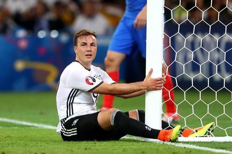 Götze se quedó fuera de la selección.