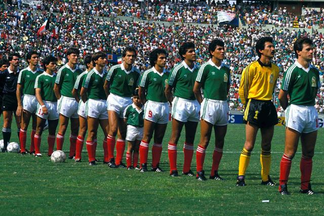 México en el Mundial 86
