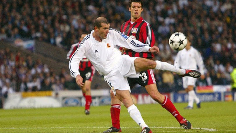 Zidane y Ballack