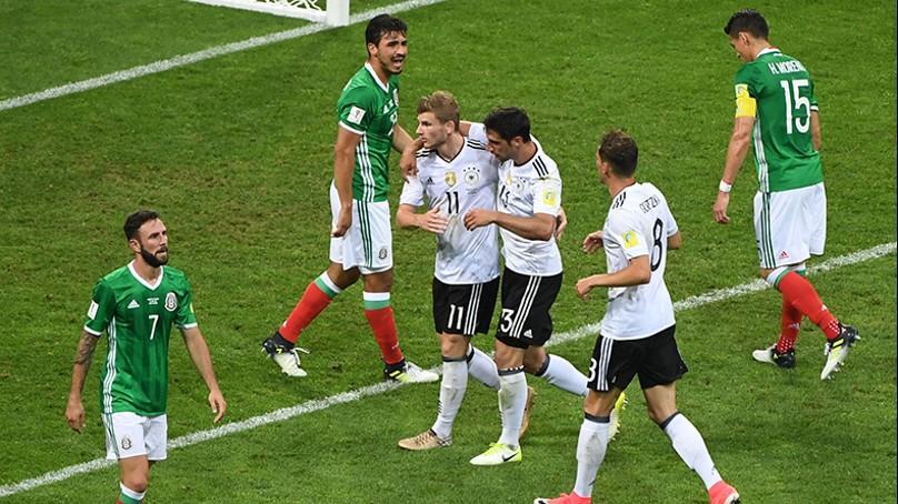 México-Alemania.