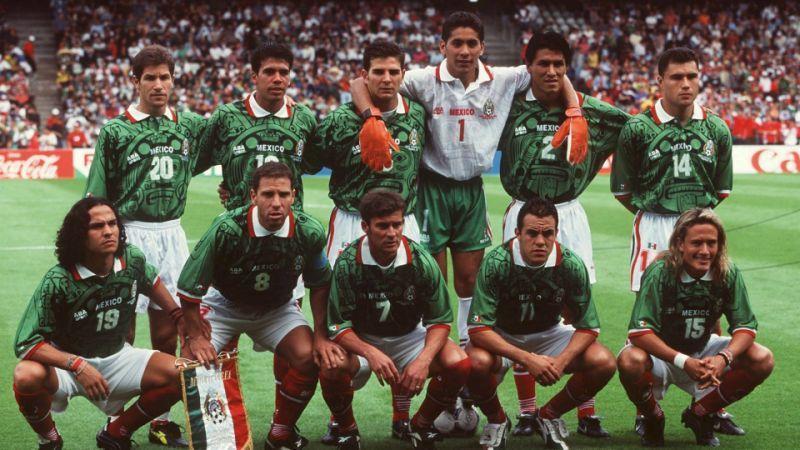 México en Francia 98'.