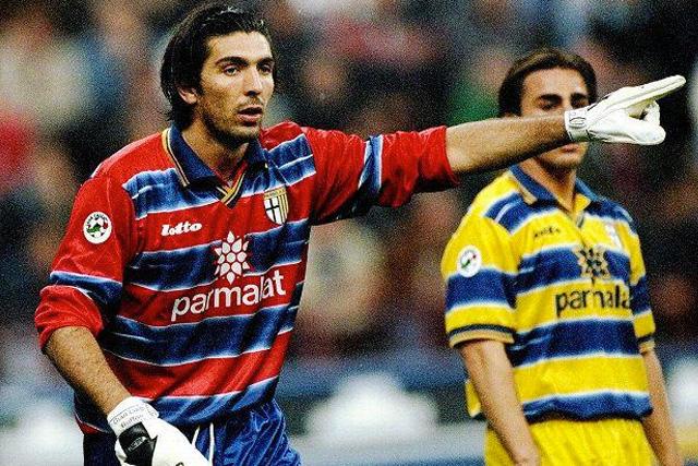 Gianluigi Buffon con el Parma