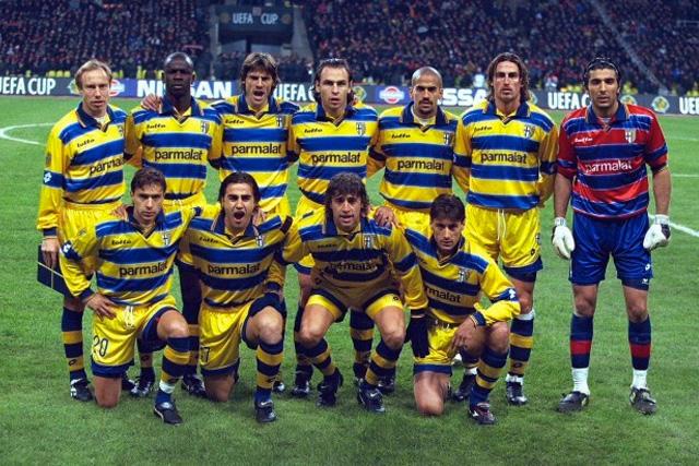 Parma en la final de la Copa de Europa