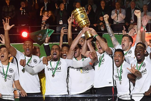 Frankfurt campeón de la Copa de Alemania